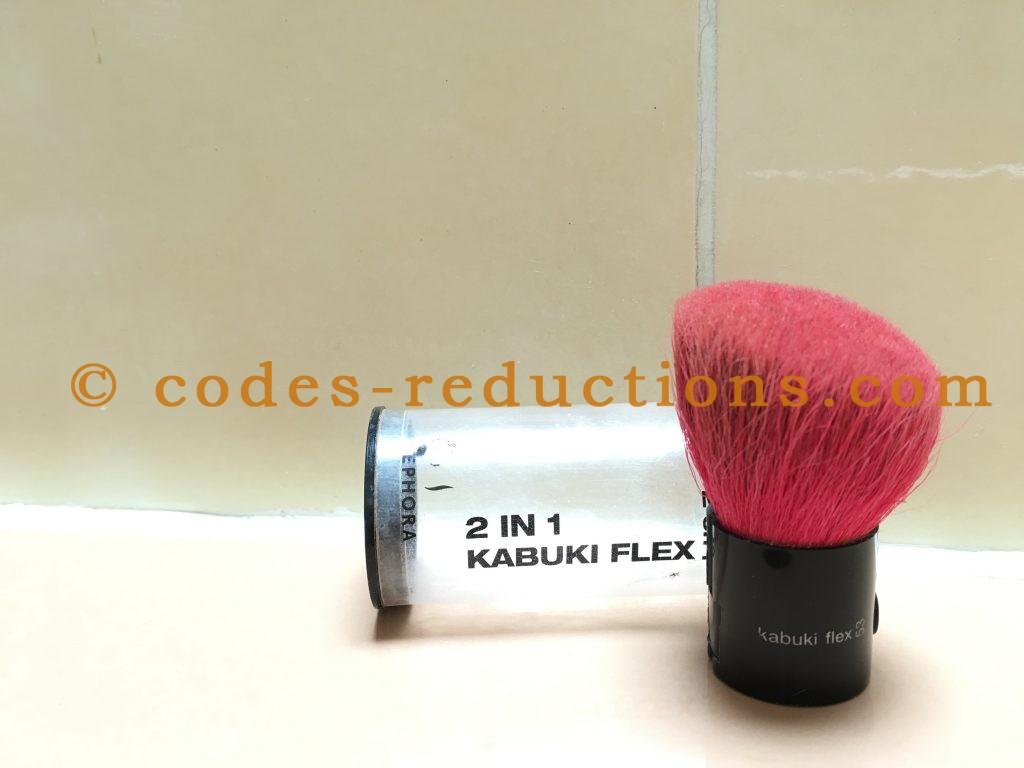 pinceau 2 en 1 Kabuki Flex de Sephora 2