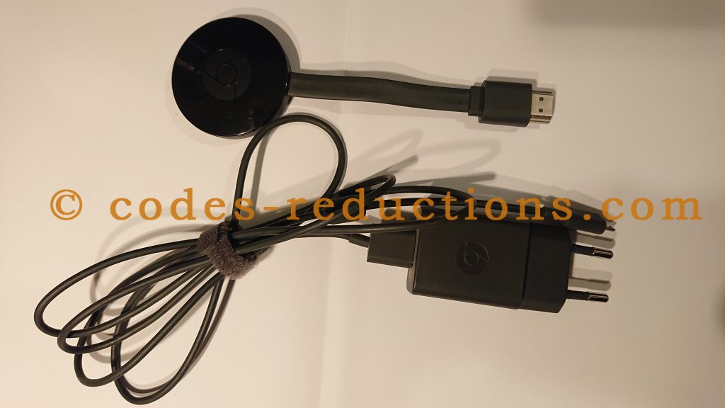 Chromecast et cable alimentation