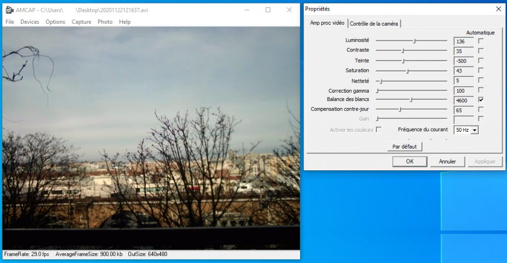Webcam Logiciel